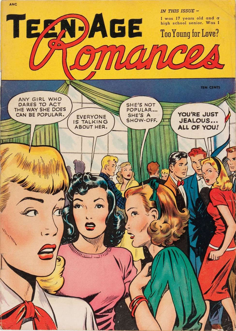 Teen Age Romances #1, St. John