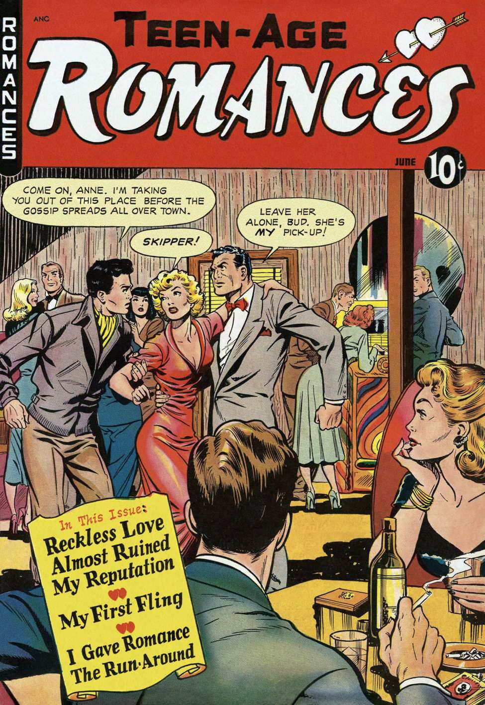 Teen Age Romances #10, St. John
