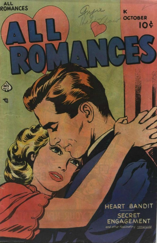 All Romances #2, Ace Magazines
