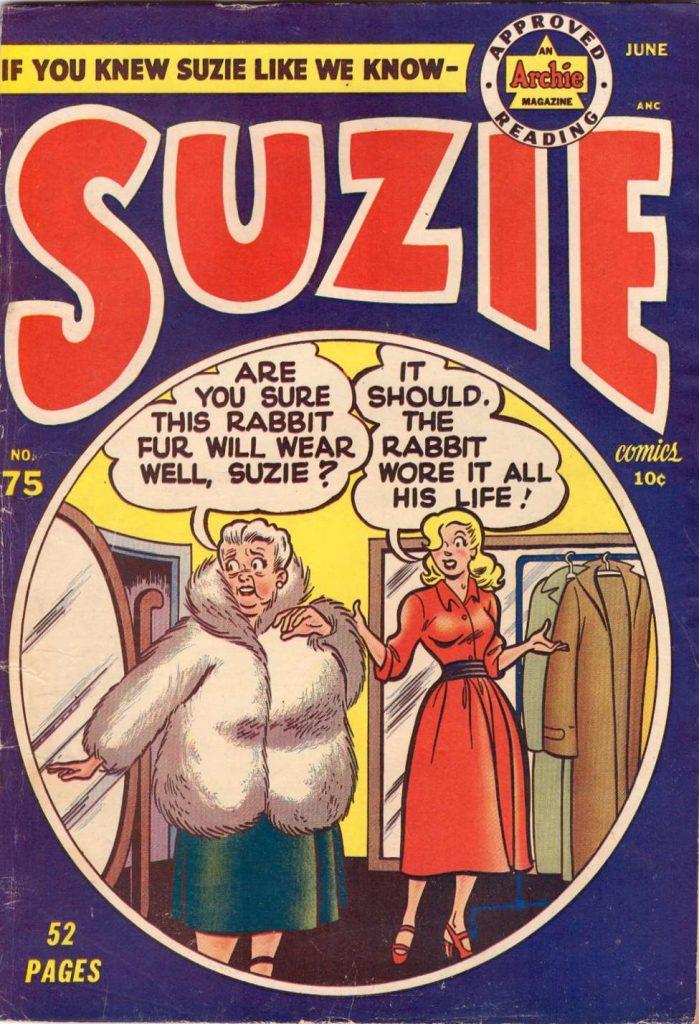 Suzie #75, MLJ/Archie