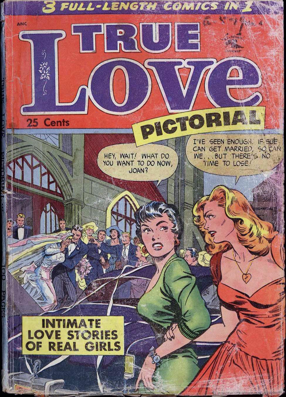 True Love Pictorial #4, St. John