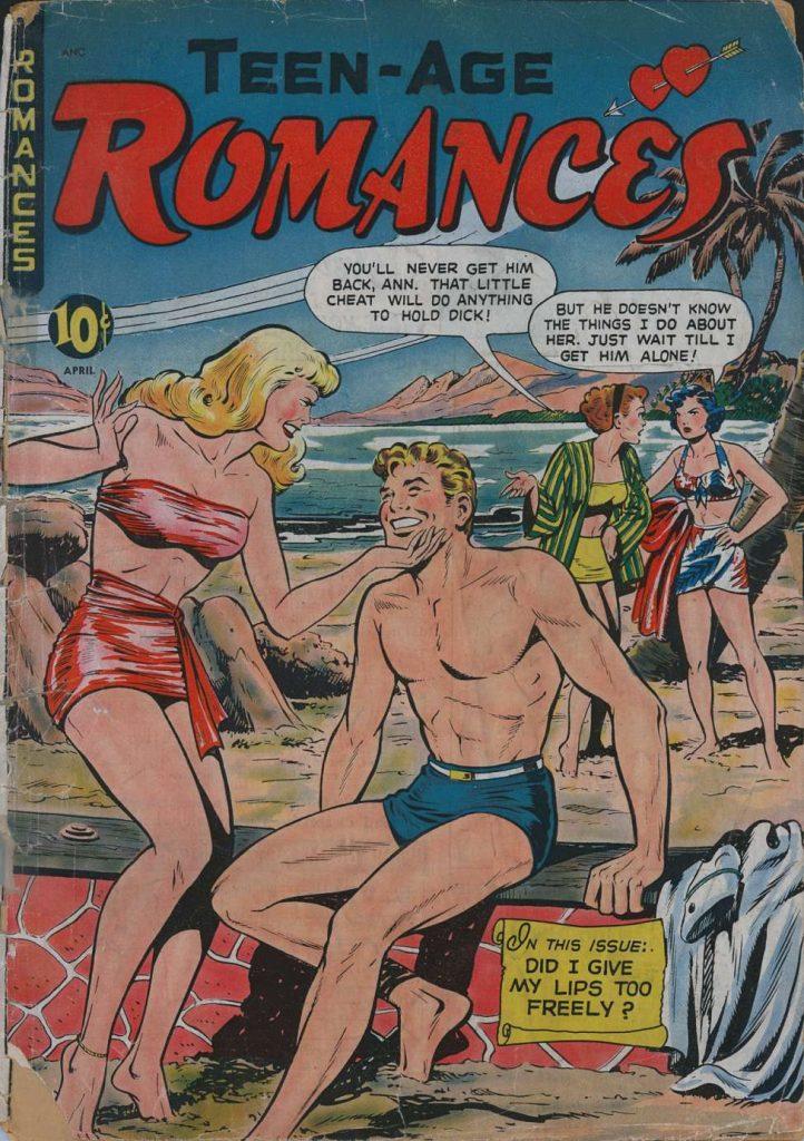 Teen Age Romances #9, St. John