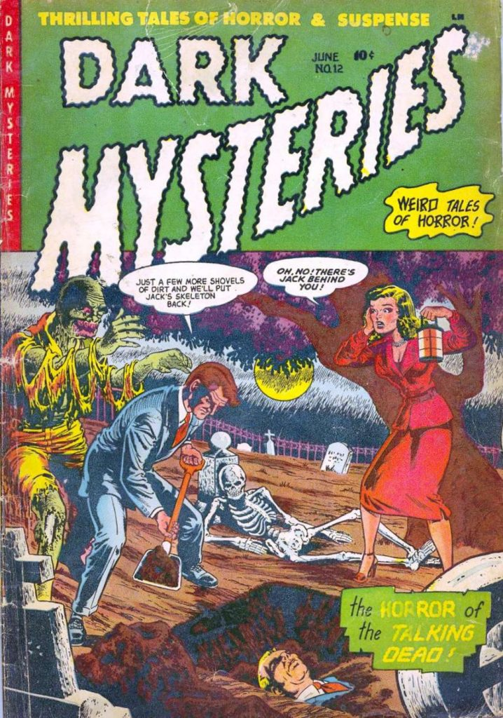 Dark Mysteries #12, Story Comics