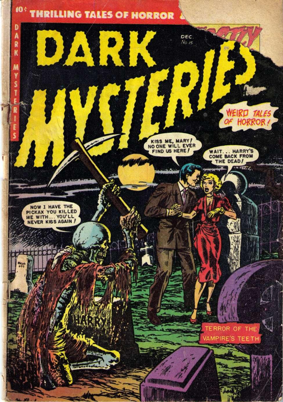 Dark Mysteries #15, Story Comics