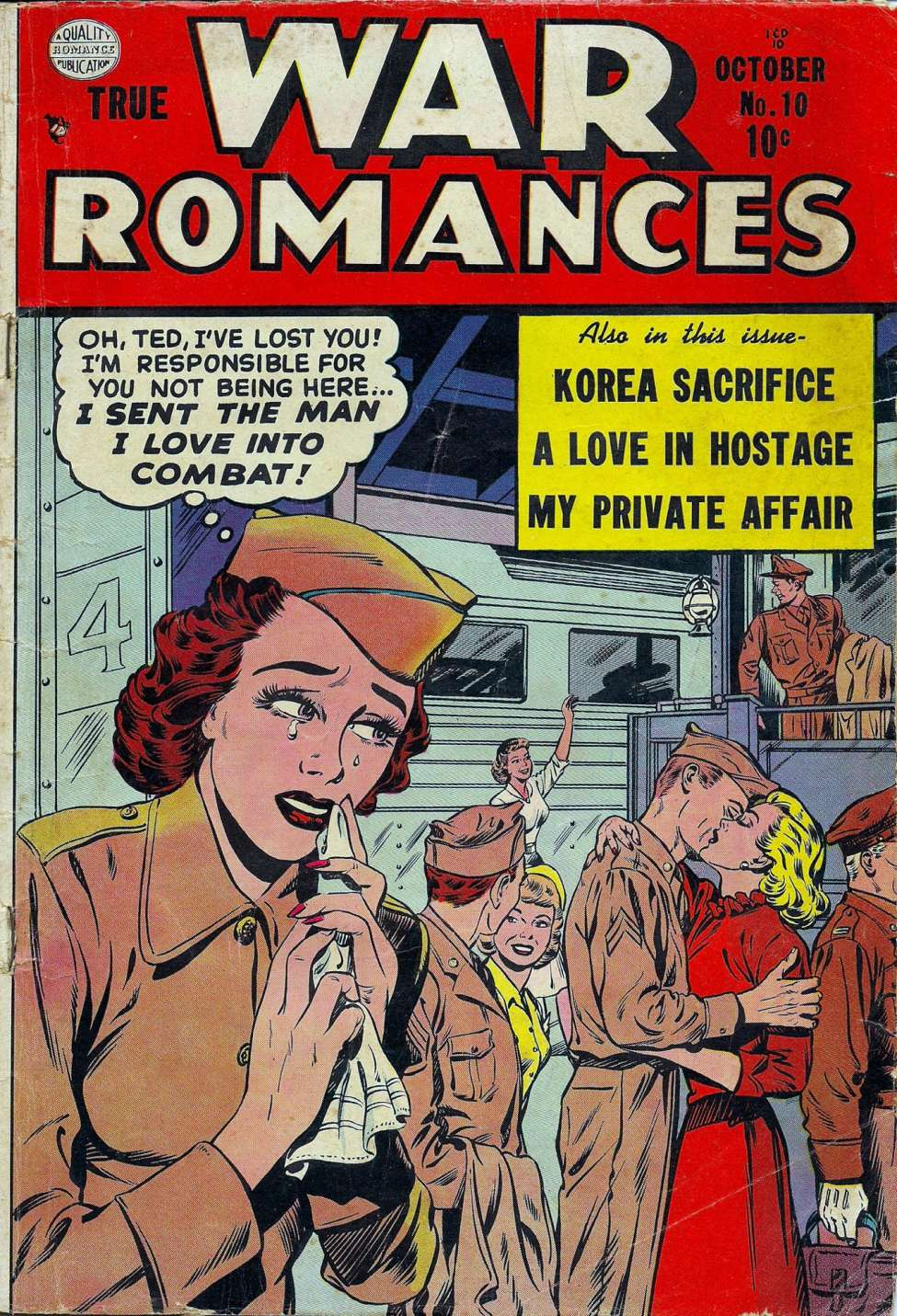 True War Romances #10, Quality Comics