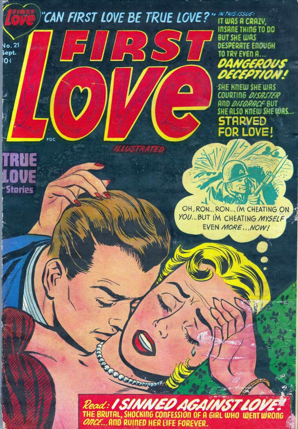First Love Illustrated #21, Harvey