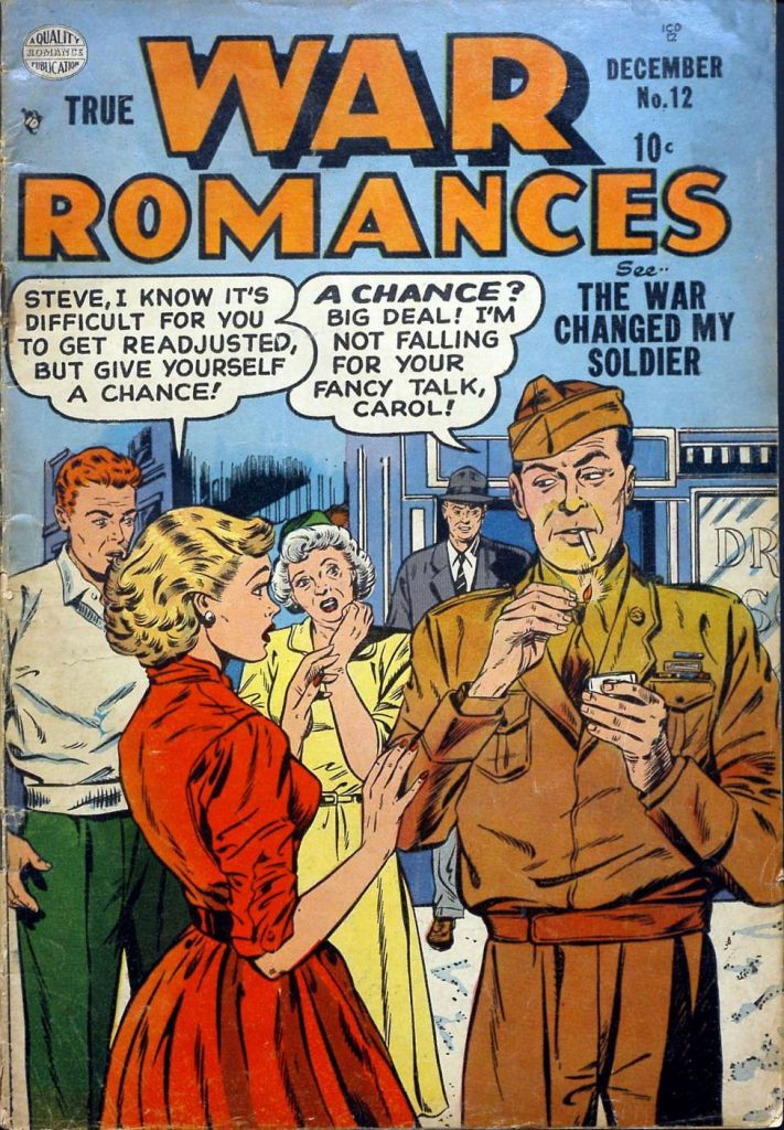 True War Romances #12, Quality Comics
