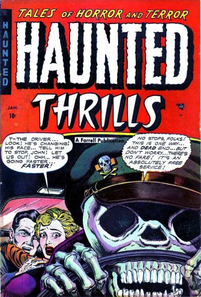 Haunted Thrills #13, Ajax/Farrel