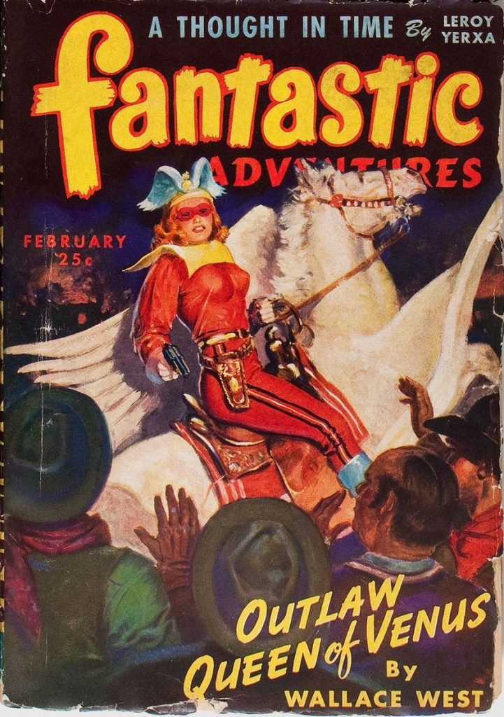Fantastic Adventures, Feb. 1944