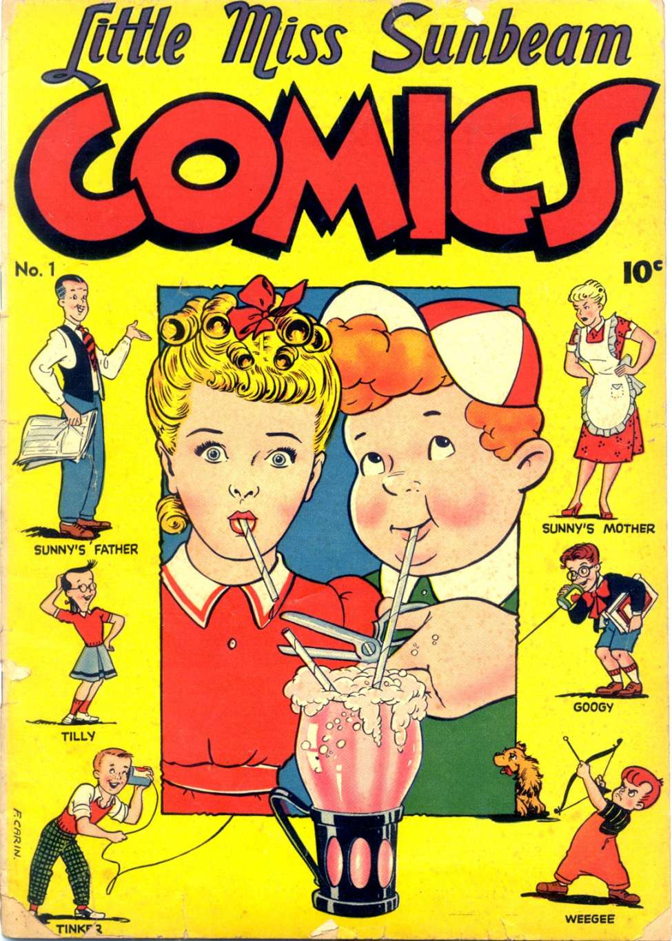 Little Miss Sunbeam Comics #1, Magazine Enterprises
