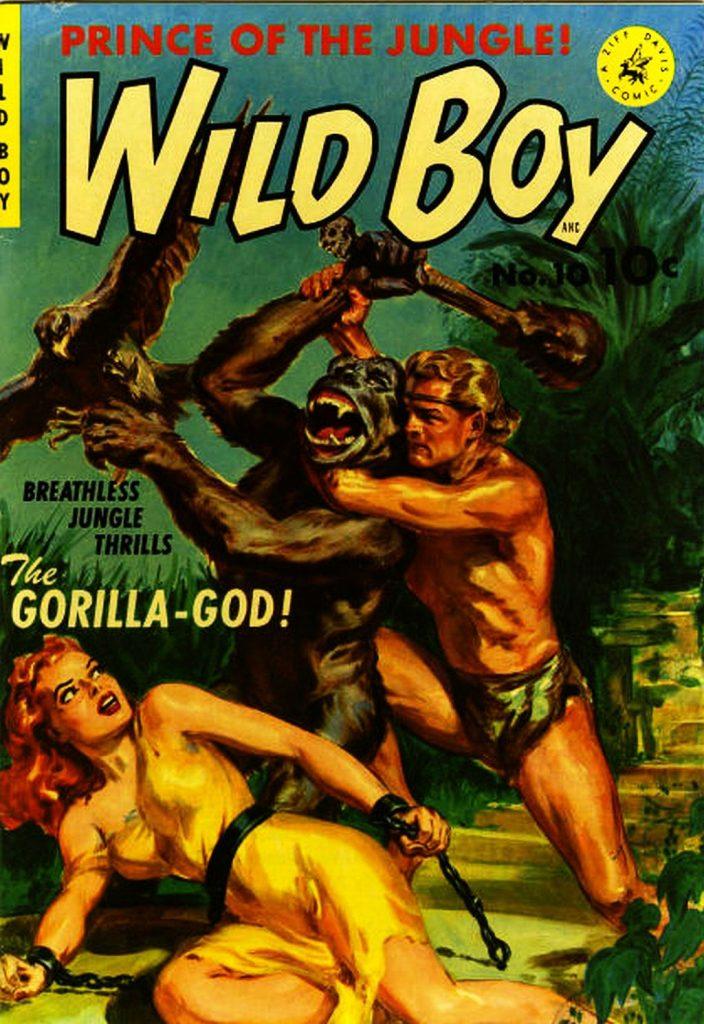 Wild Boy #10, Ziff-Davis