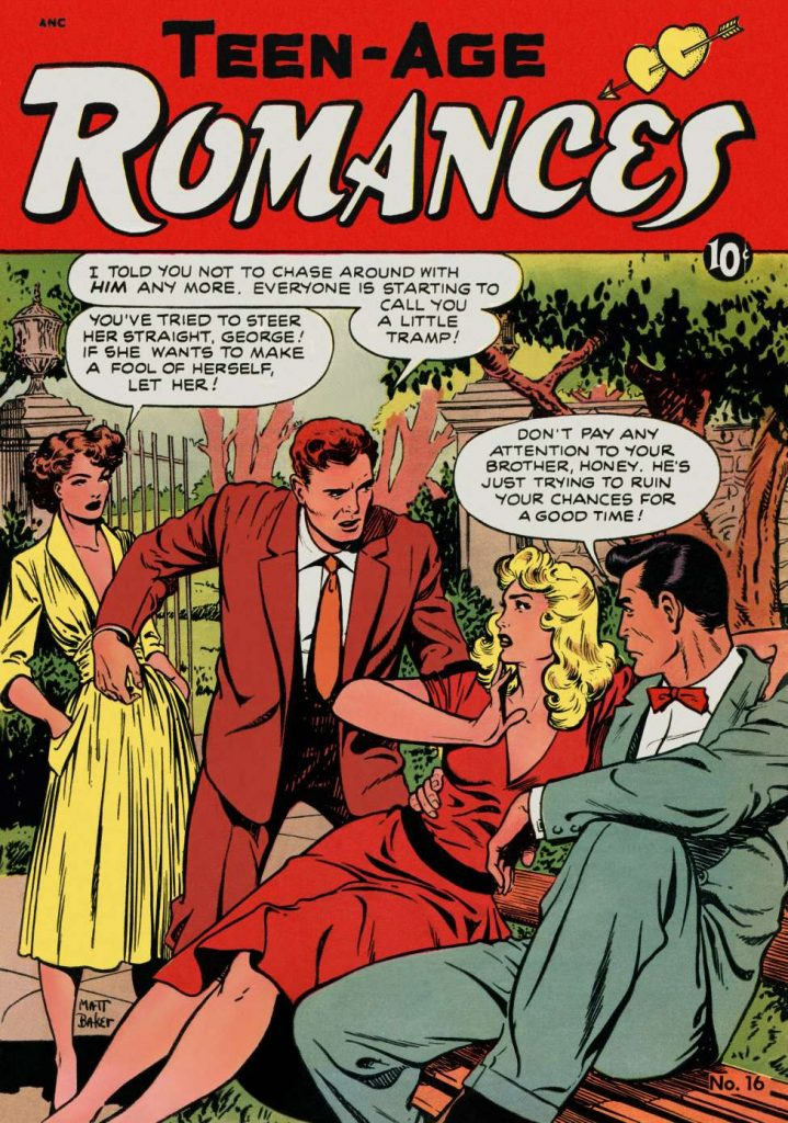 Teen Age Romances #16. St. John