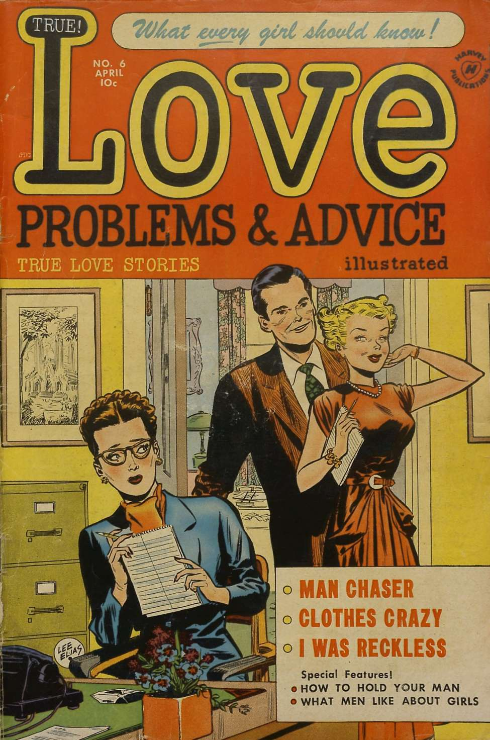 True Love Problems And Advice #6, Harvey
