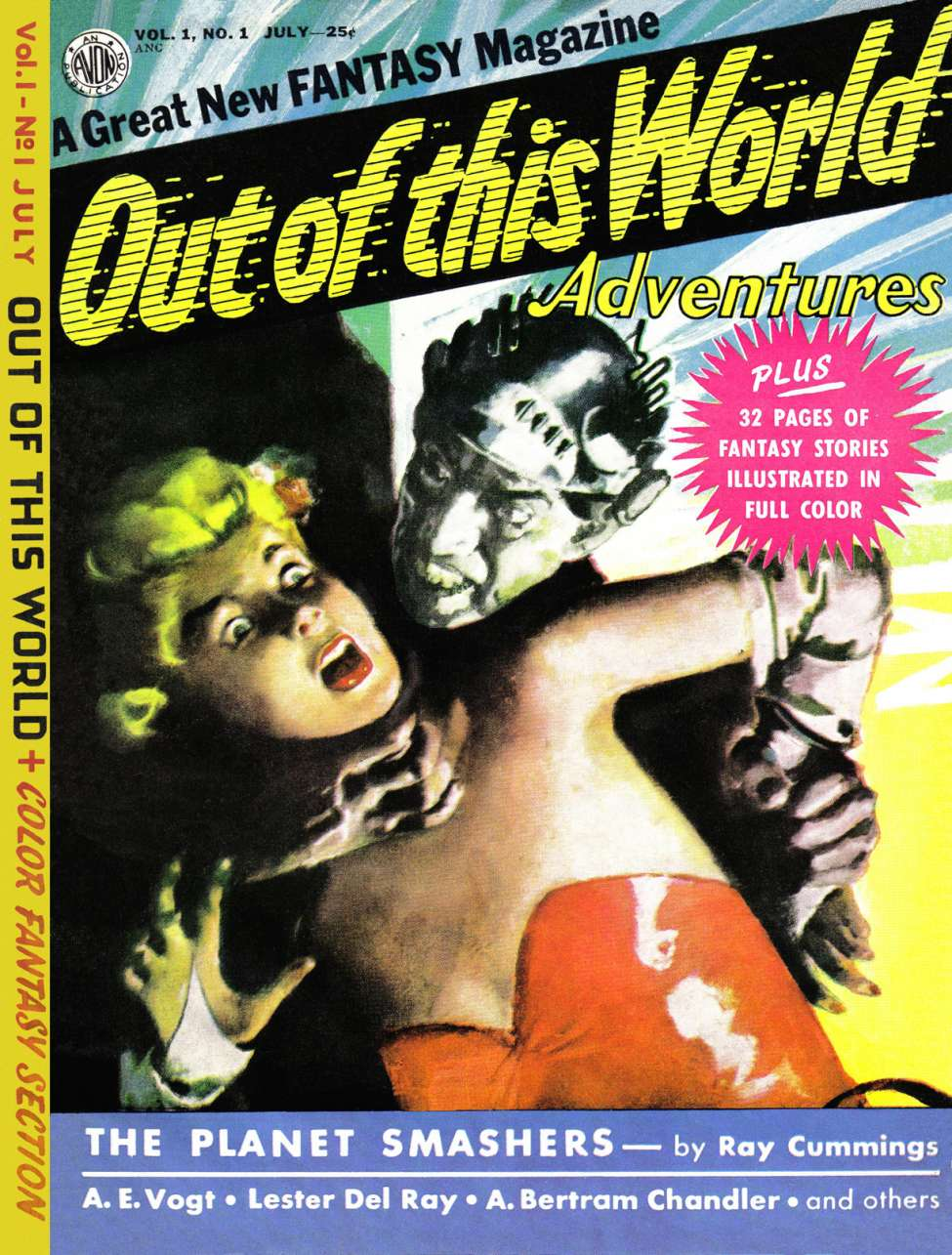 Out of the This World Adventures #1, Avon