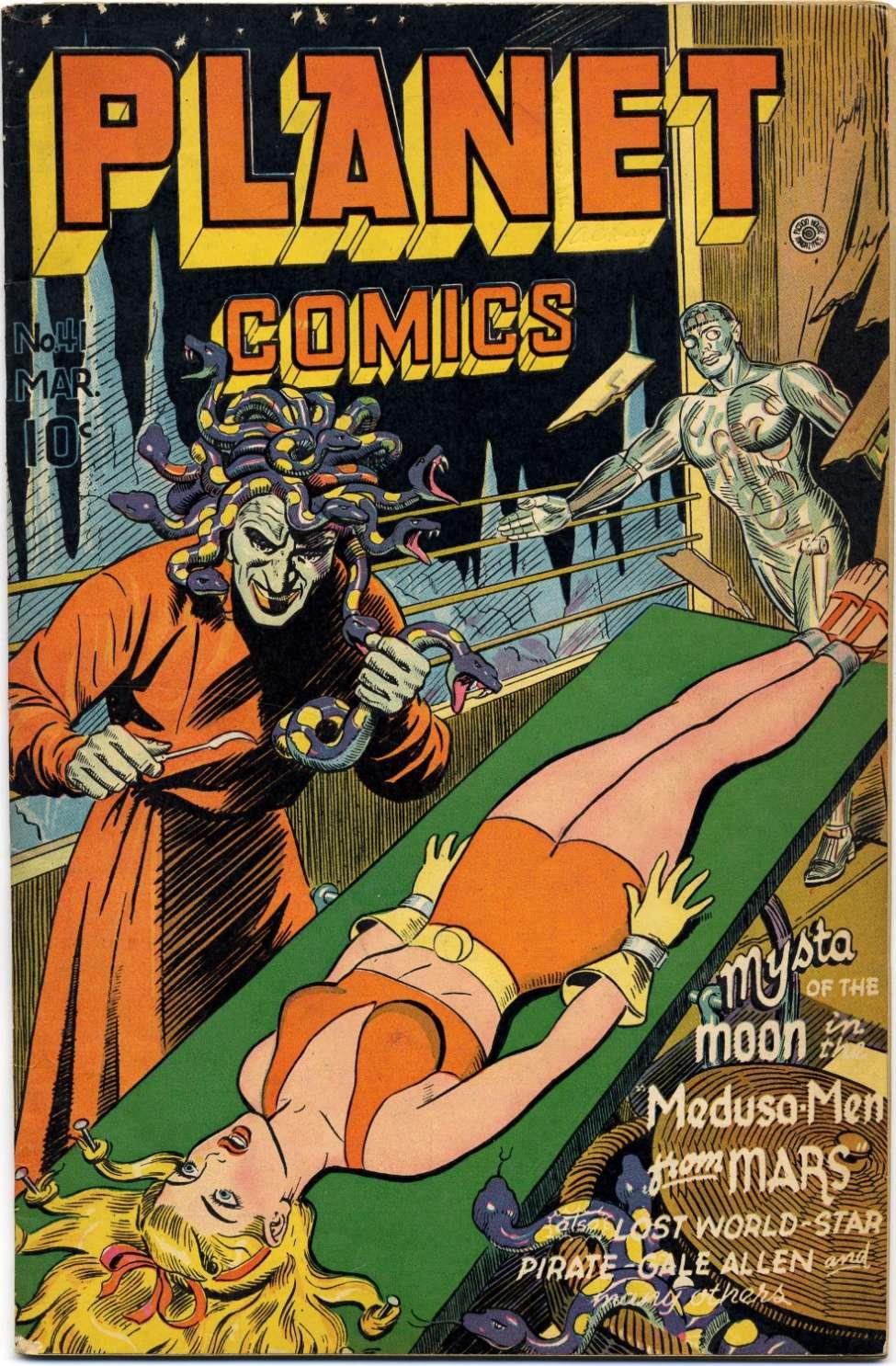 Planet comics #41, Fiction House