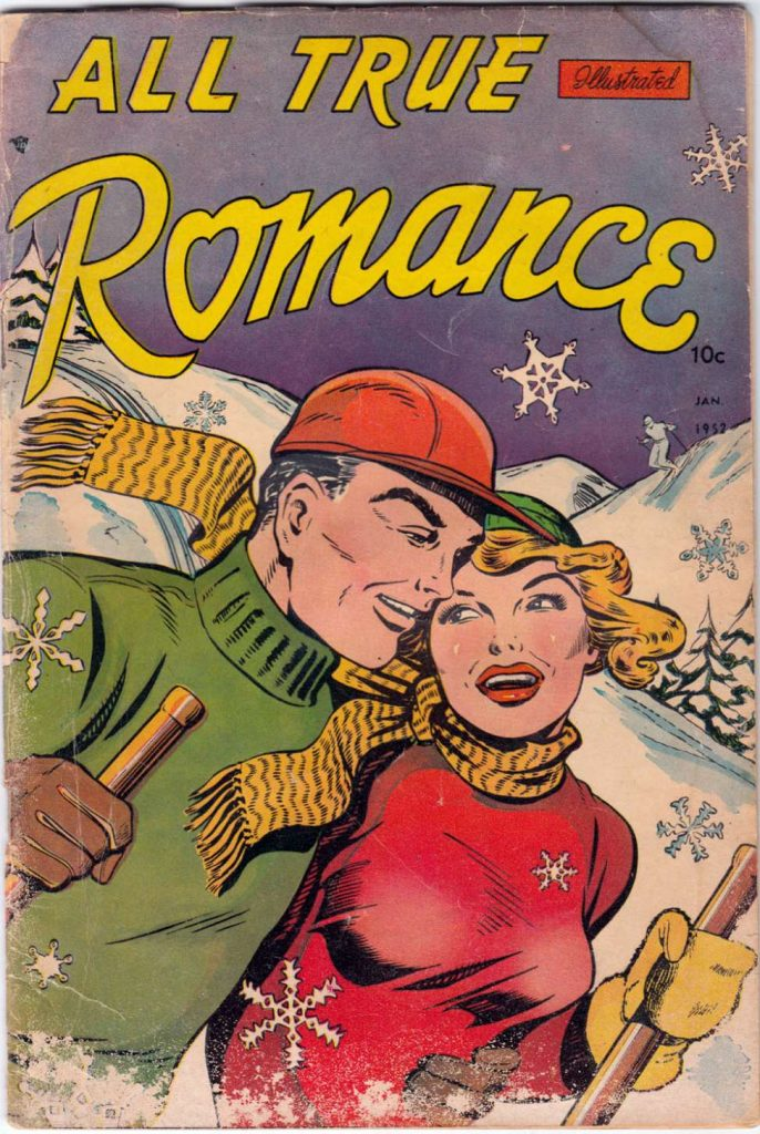 All True Romance #3, Comic Media