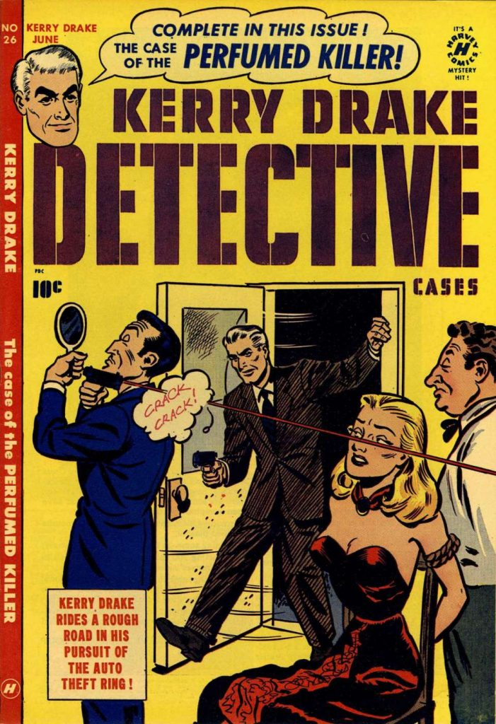 Kerry Drake Detective Cases #26, Harvey