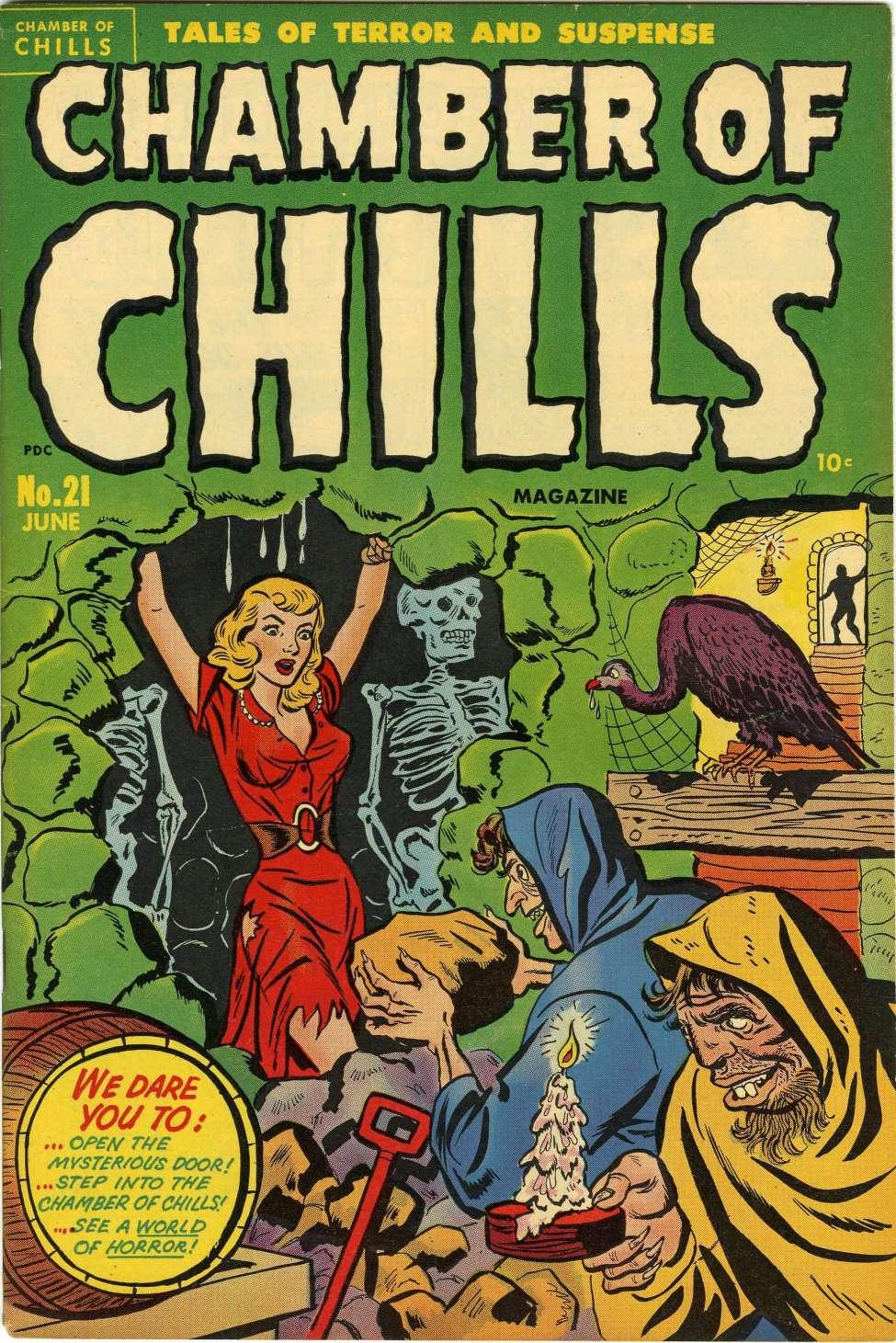 Chamber of Chills Magazine #21, Harvey