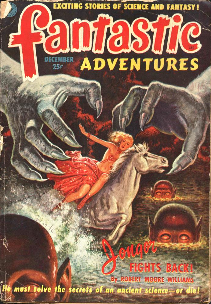 Fantastic Adventures v13 #12