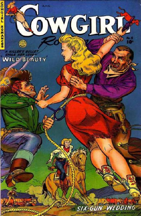 Cowgirl Romances #8, Fiction House