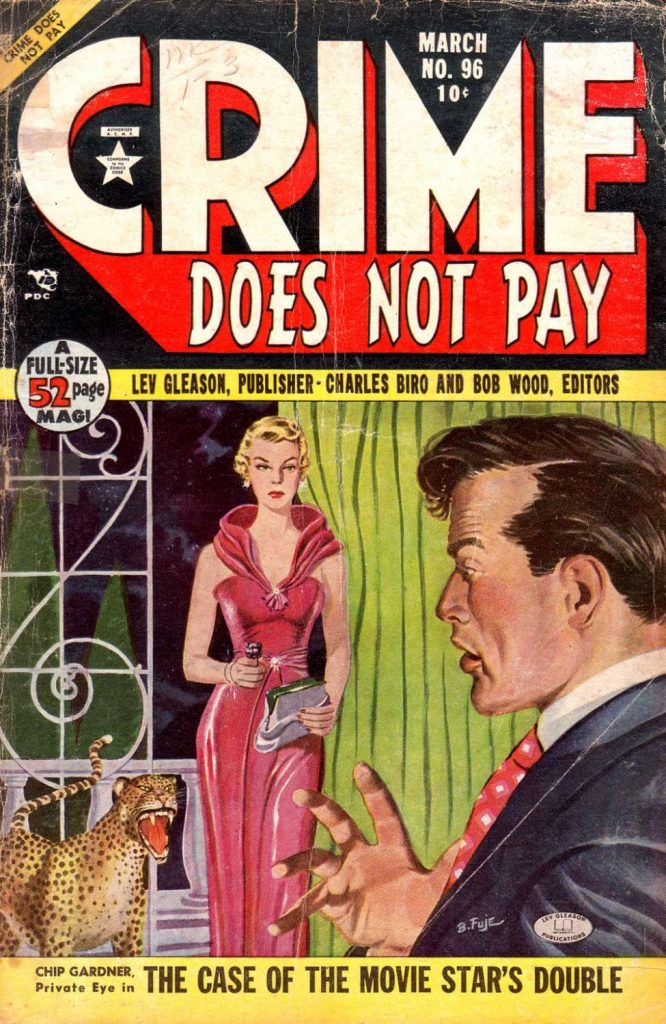 Crime Does Not Pay #96, Lev Gleason
