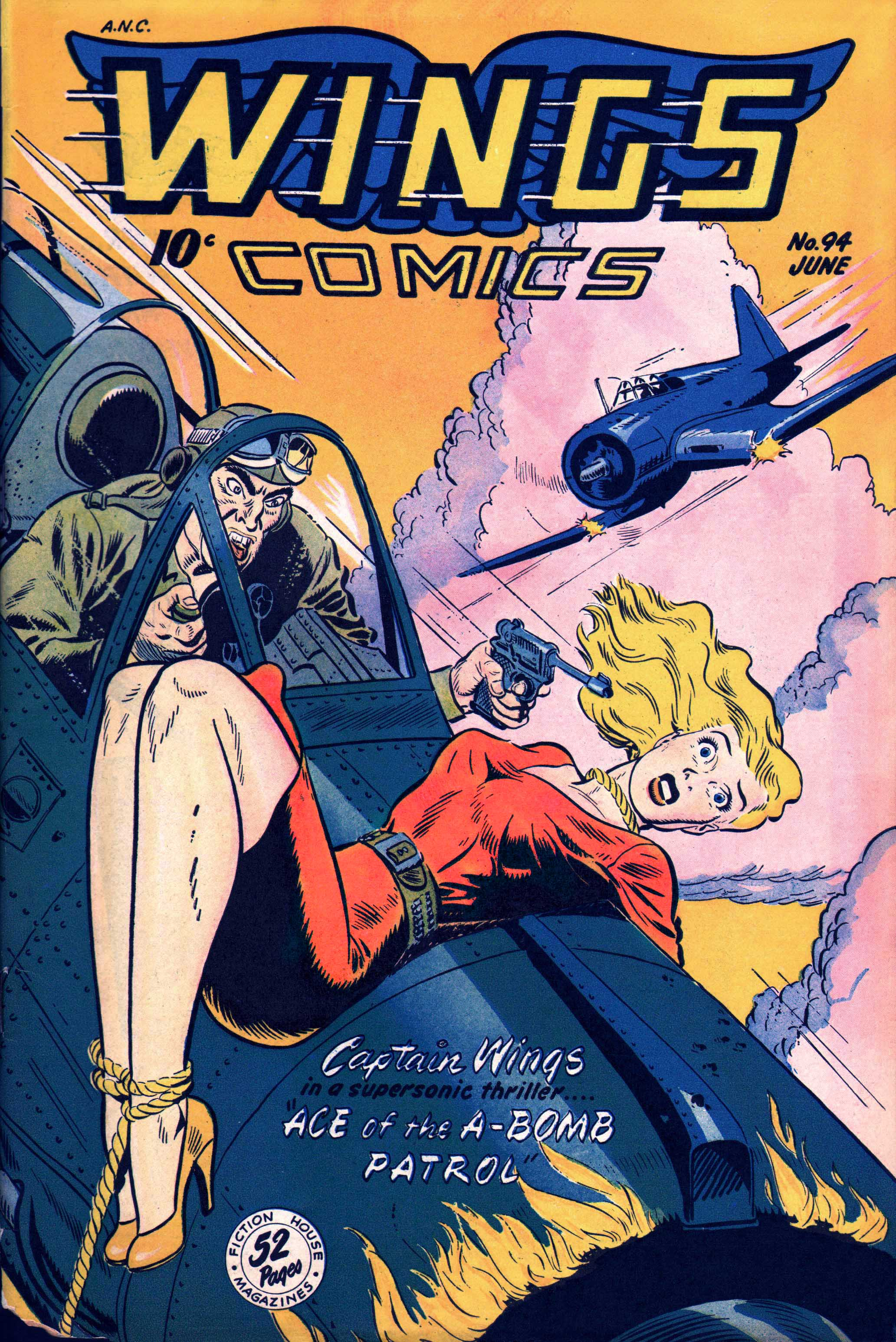 Wings Comics #94 by Fiction House