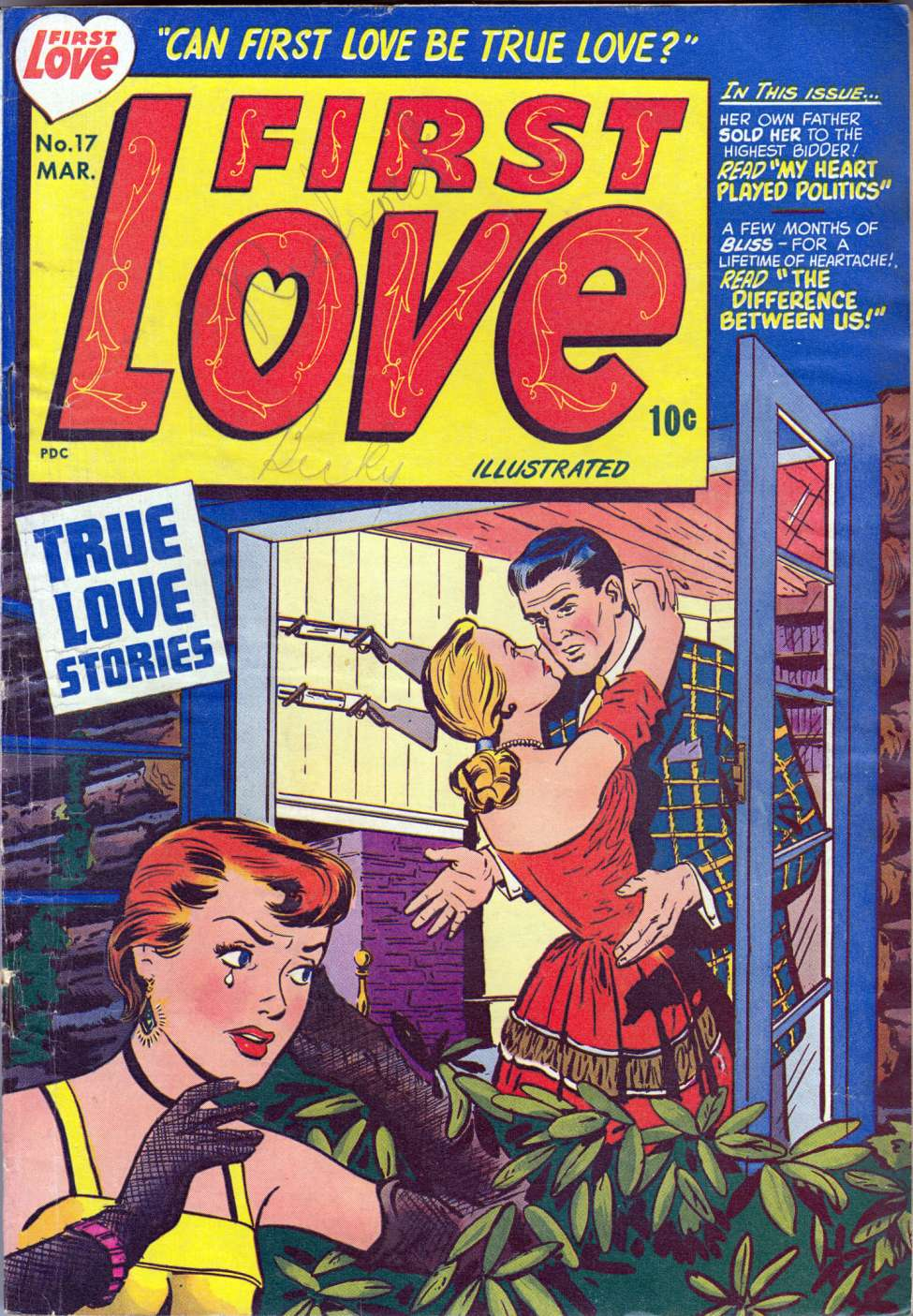 First Love Illustrated #9, Harvey