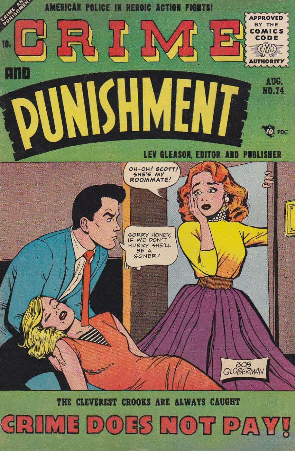 Crime and Punishment #74, Lev Gleason