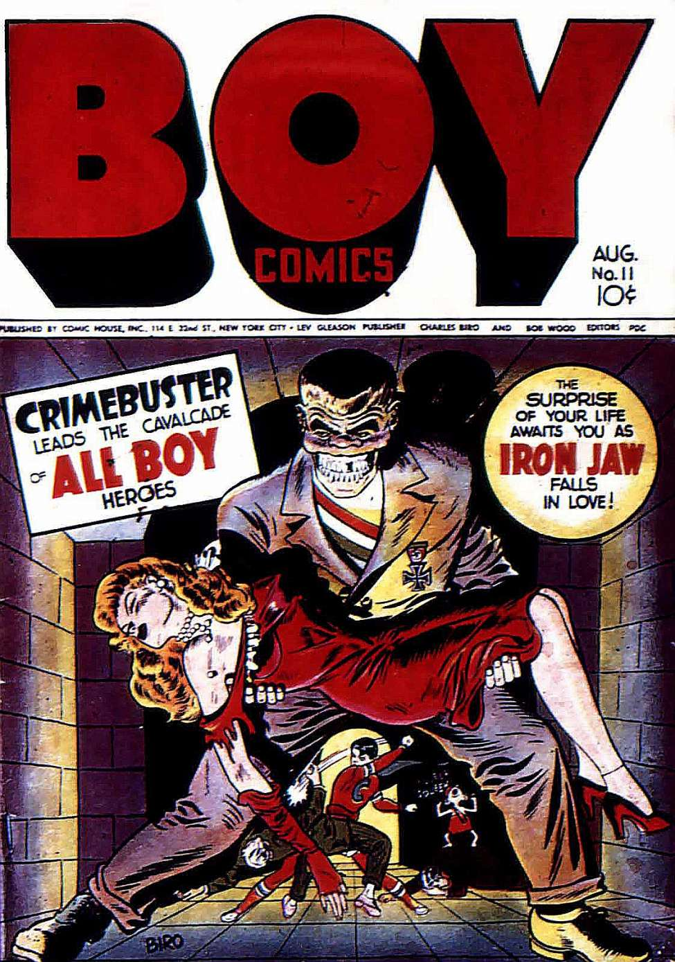 Boy Comics #11, Lev Gleason