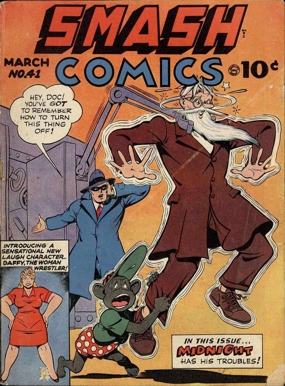 Smash Comics #41, Quality
