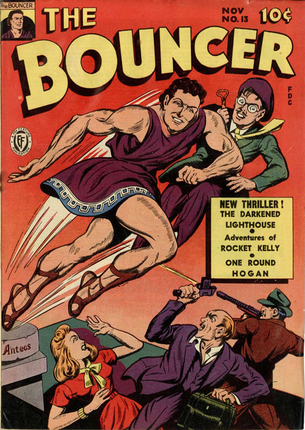 The Bouncer #13, Fox Features