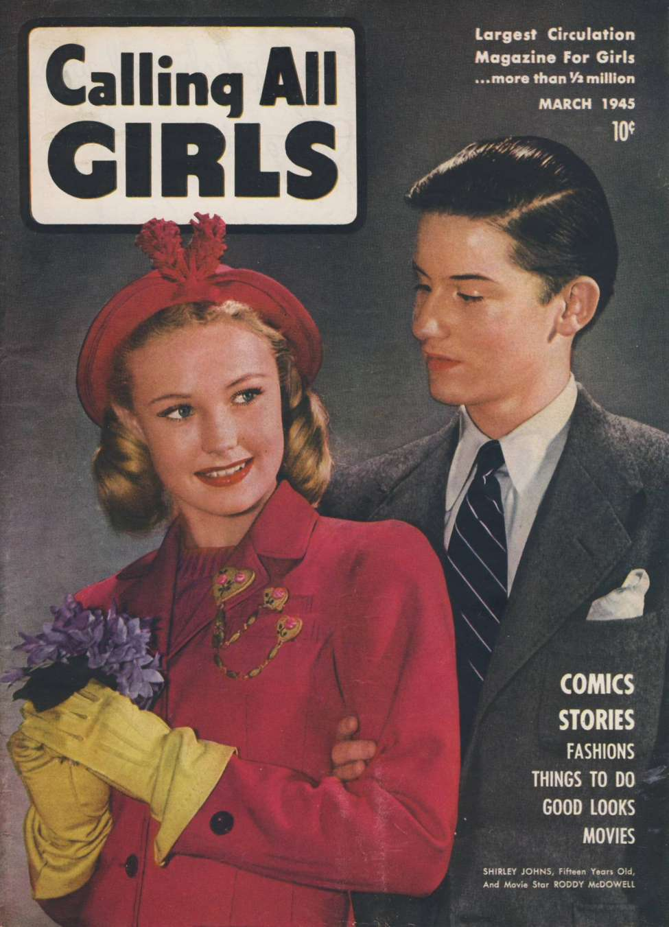 Calling All Girls #37, by Parents Magazine Press
