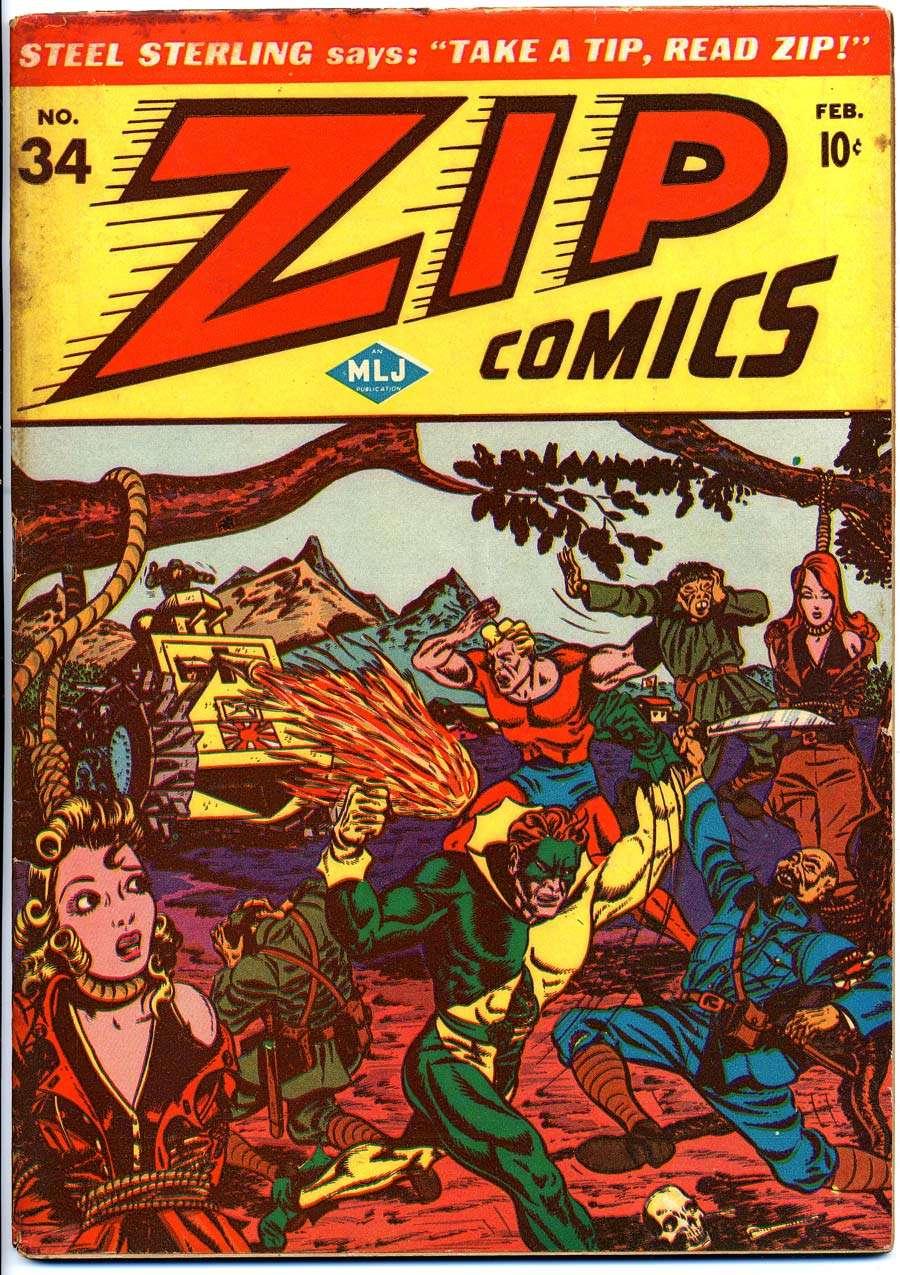 Zip Comics #34, MLJ