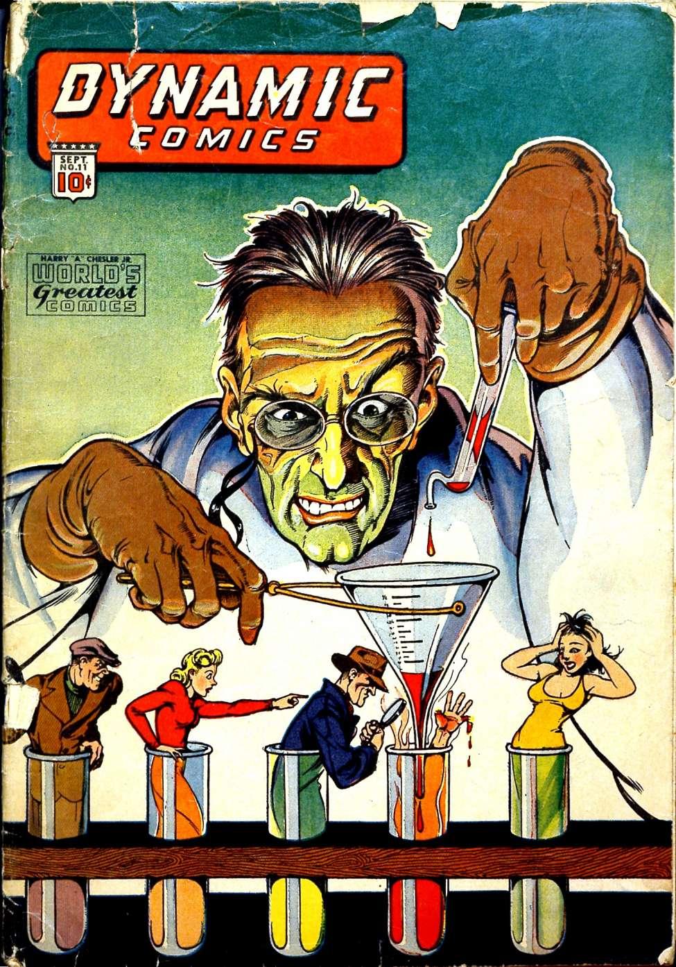 Dynamic Comics #11, Chesler