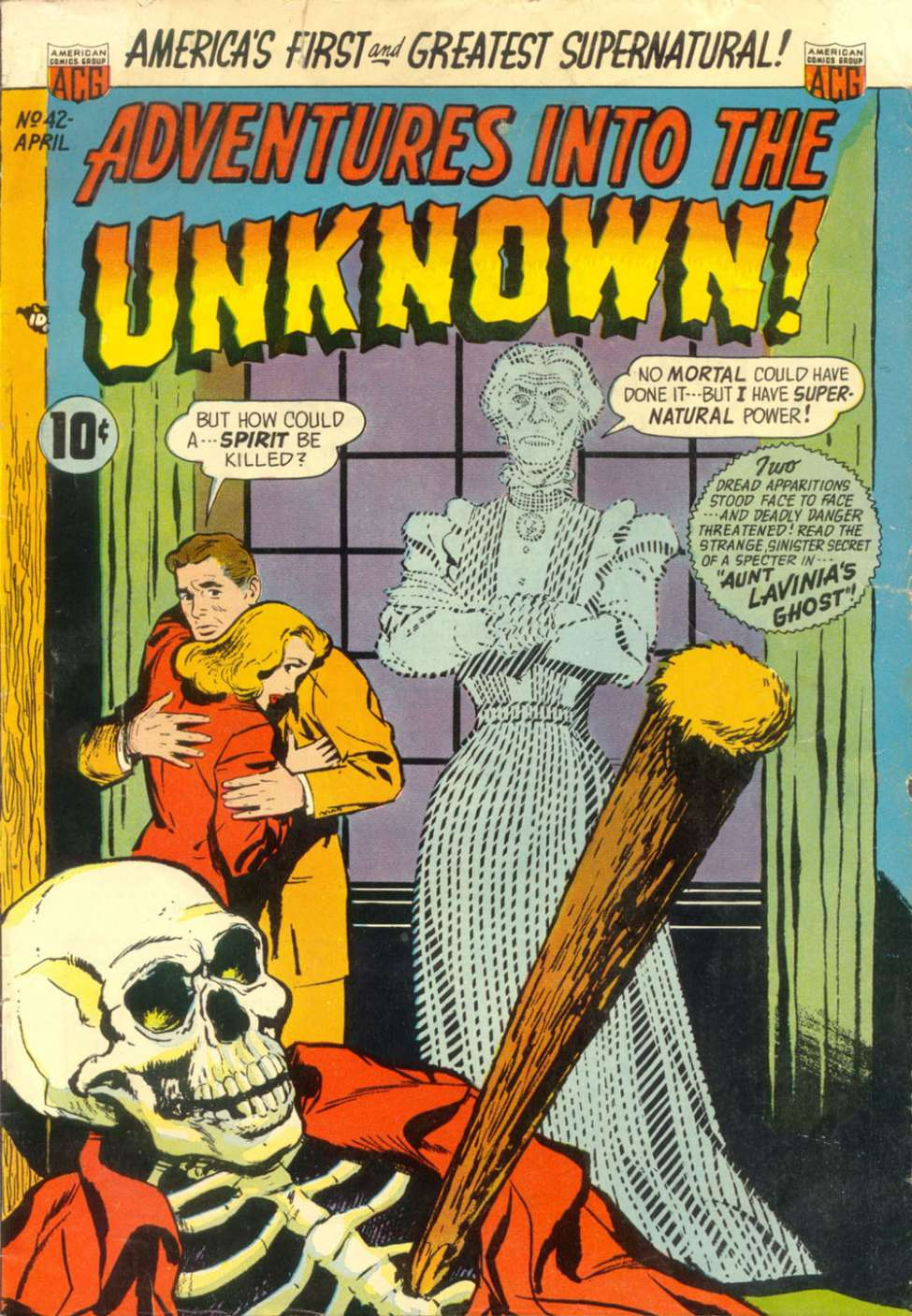 Adventures into the Unknown #42, ACG