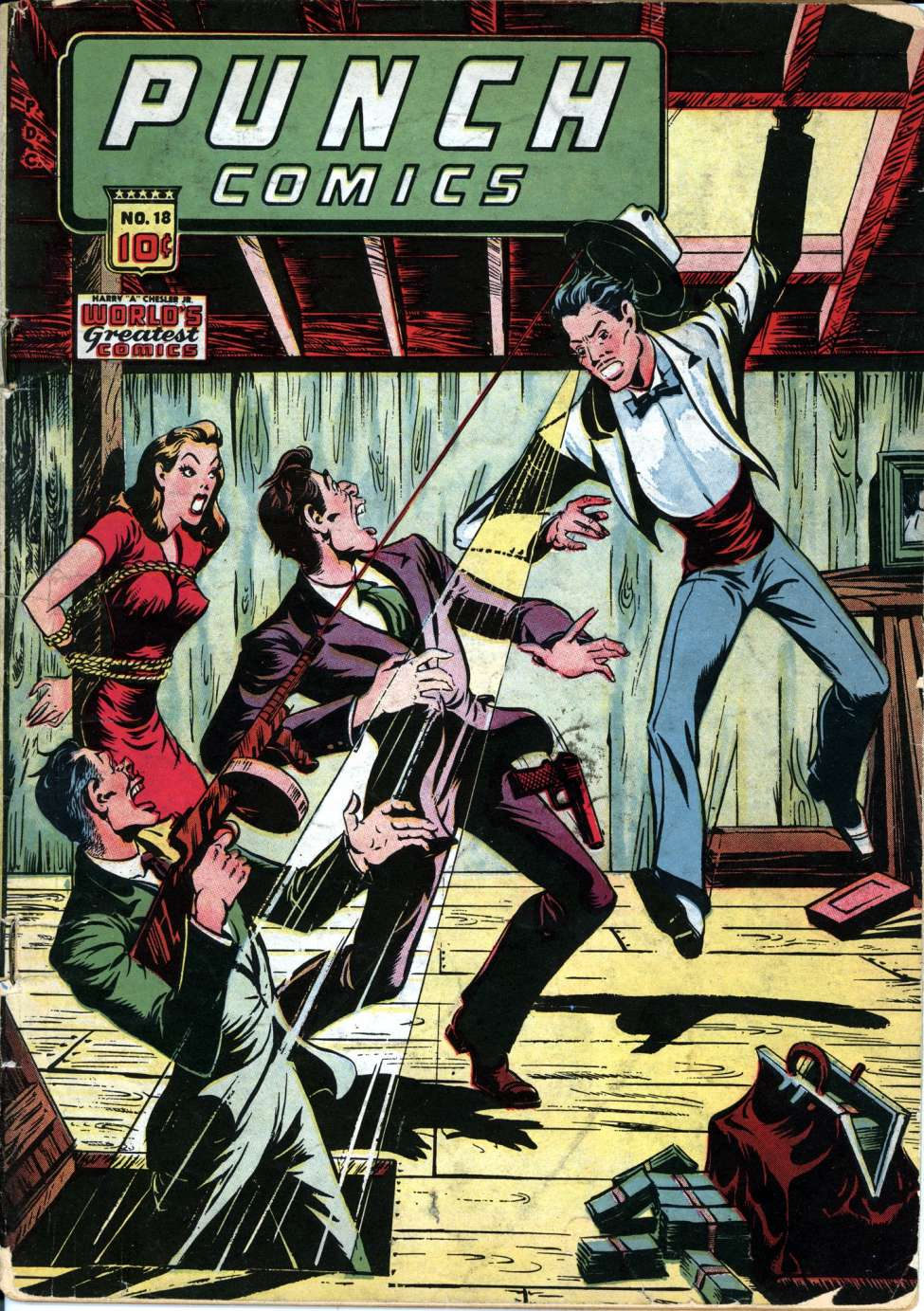 Punch Comics #18, Chesler