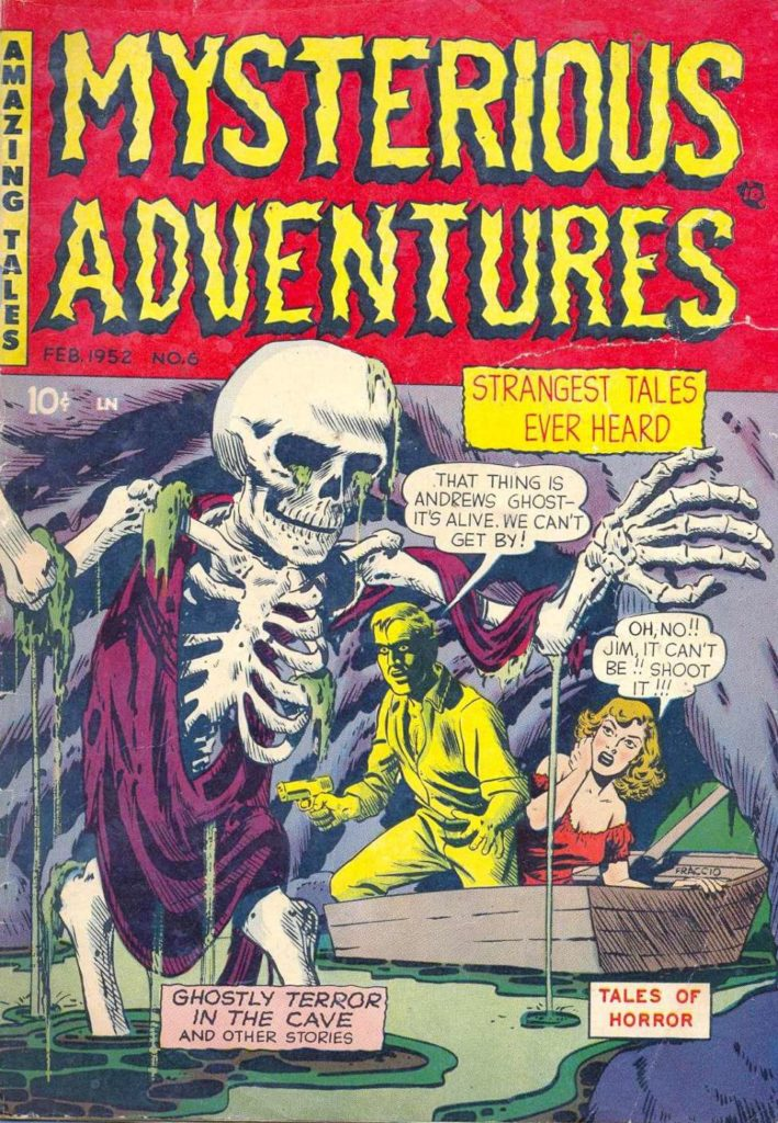 Mysterious Adventures #6, Story