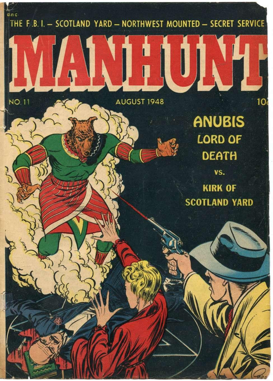 Manhunt #11, Magazine Enterprises