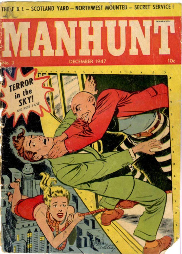 Manhunt #3, Magazine Enterprises