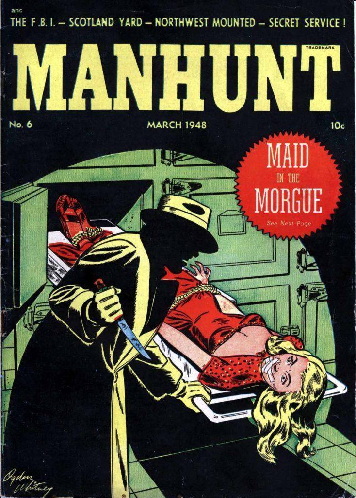 Manhunt #6, Magazine Enterprises
