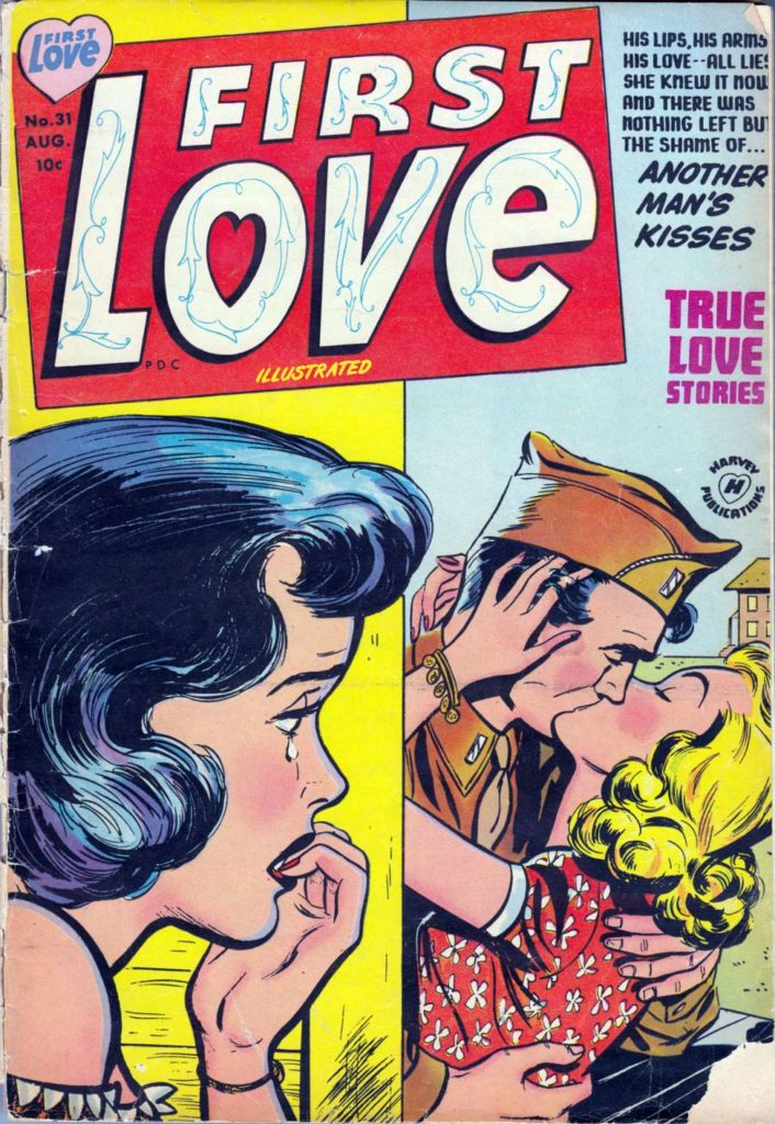 First Love Illustrated #31, Harvey