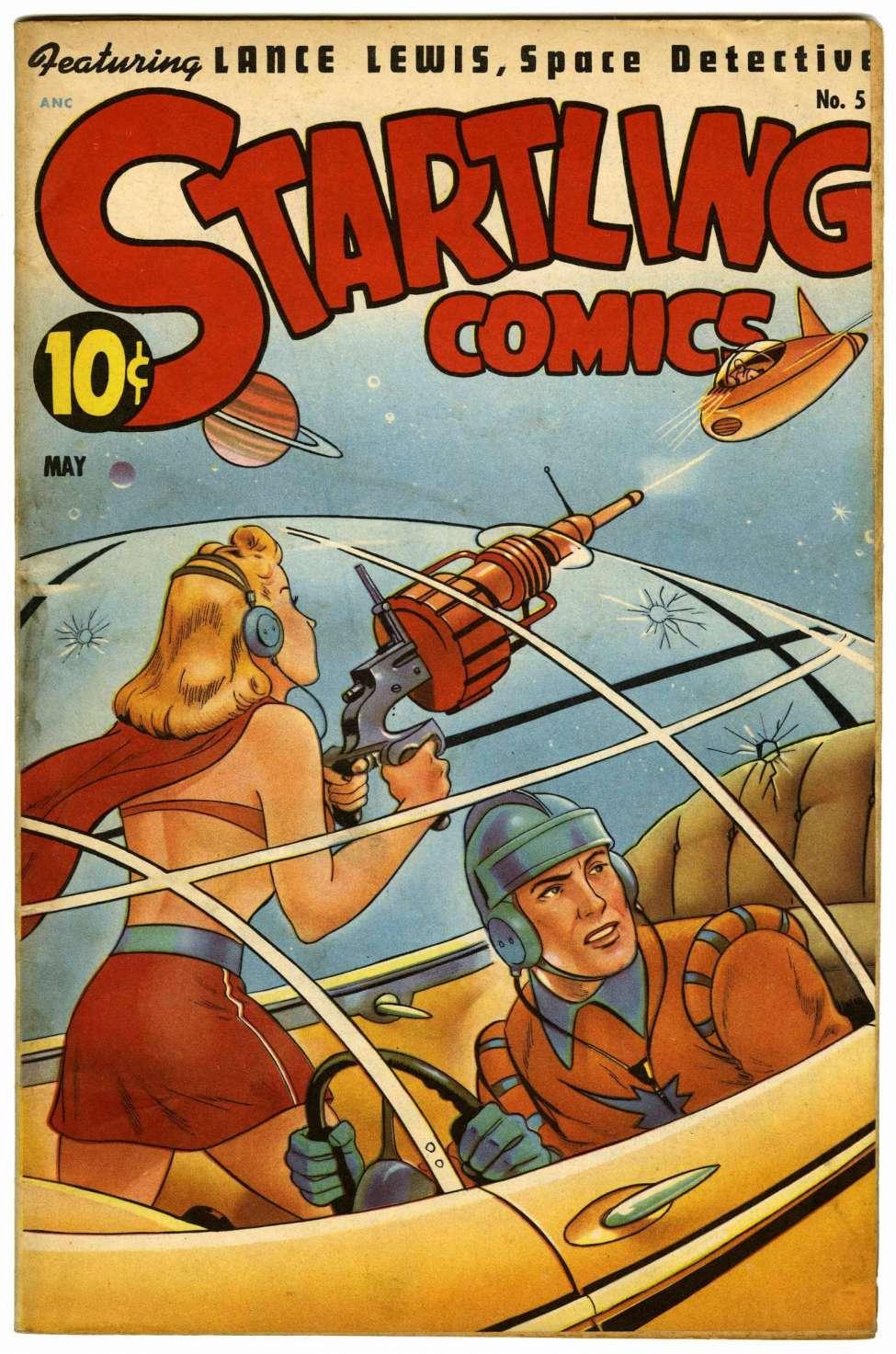 Startling Comics #51