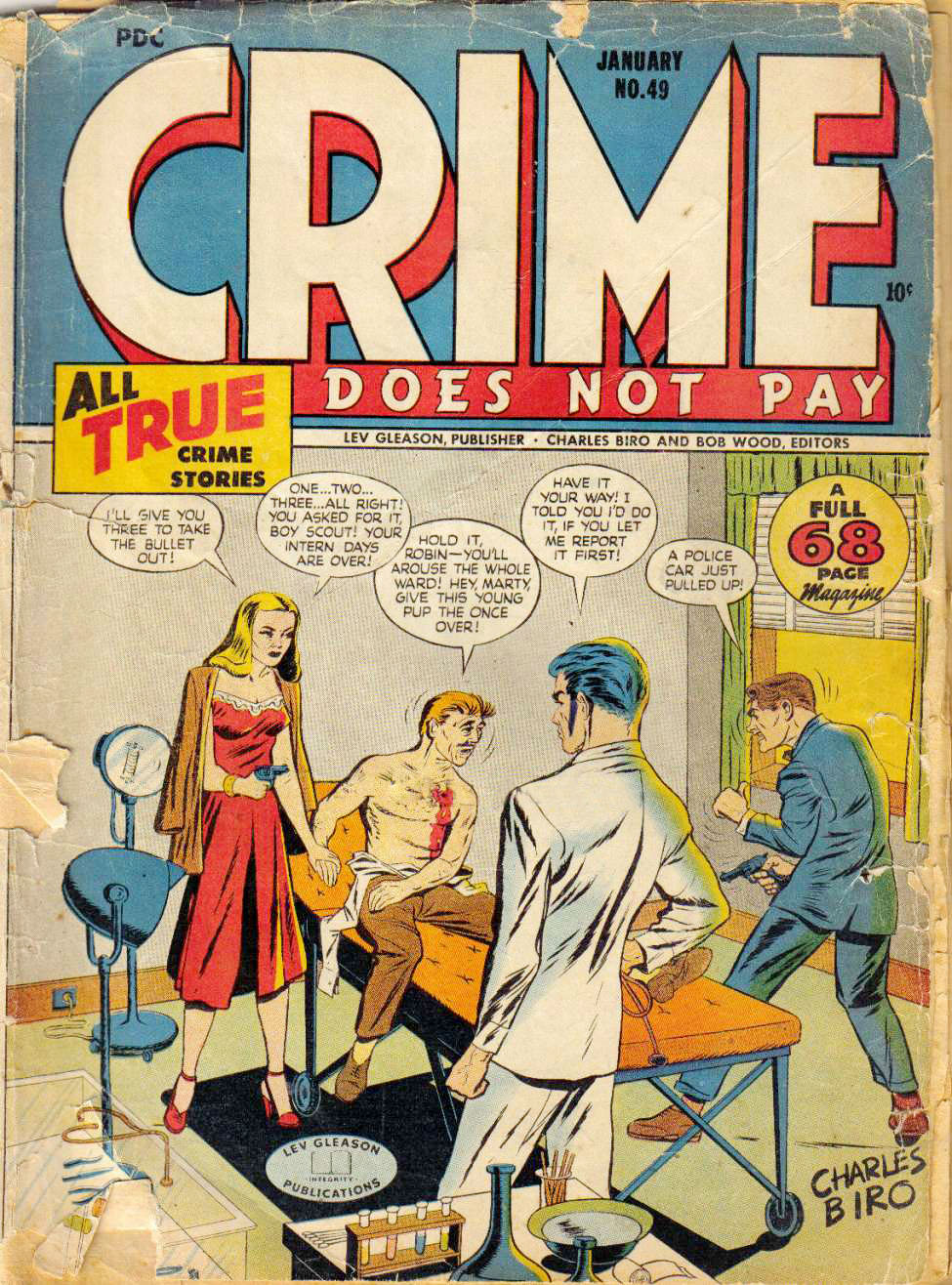 Crime Does Not Pay #49, Lev Gleason