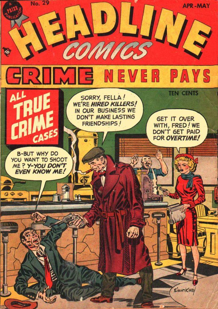 Headline Comics #29, Prize Comics