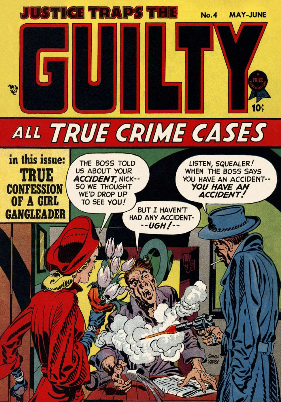 Justice Traps the Guilty #4, Prize Comics