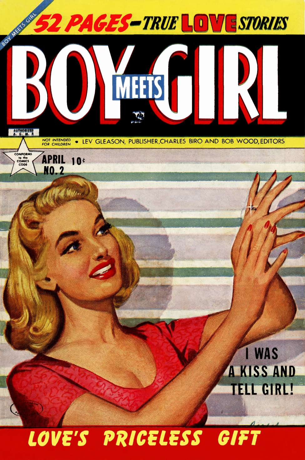 Boy Meets Girl #2, Lev Gleason