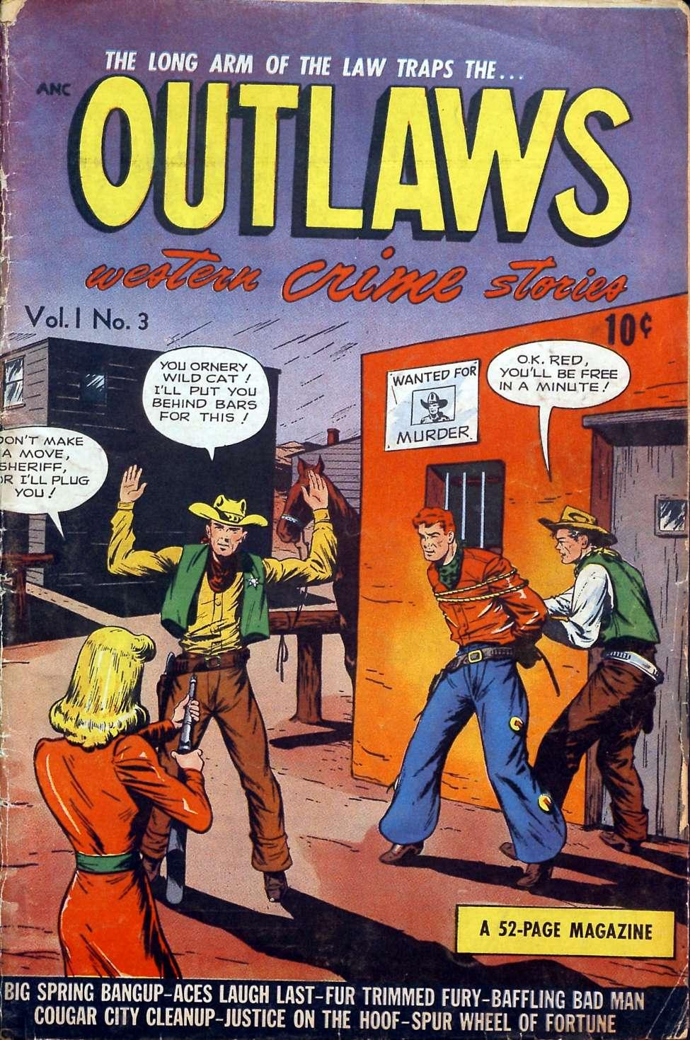 Outlaws v1 #3, DS Publishing