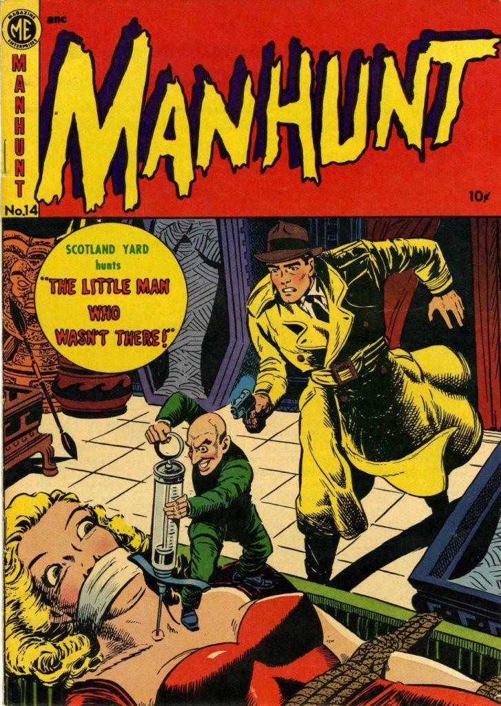 Manhunt #14, Magazine Enterprises