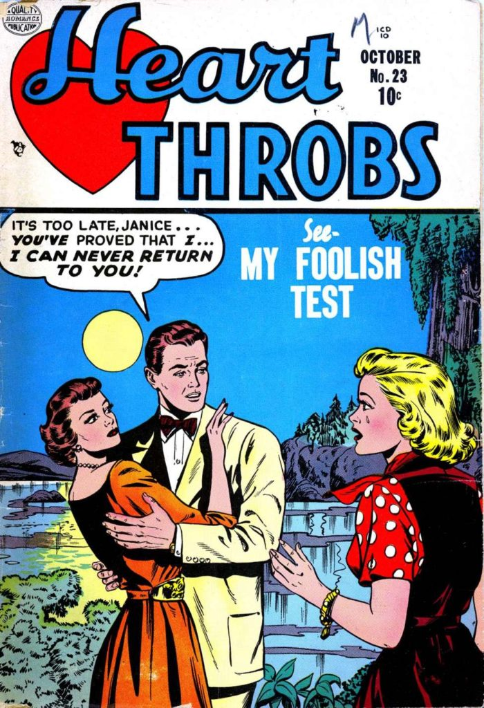 Hearth Throbs #23, Quality Comics