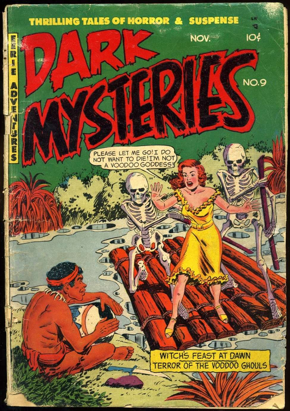 Dark Mysteries #9, Story Comics